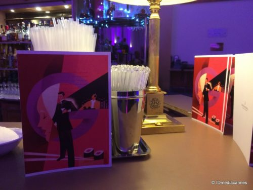 "LOUNGE BAR ""LE GRANT"" INTERCONTINENTAL CARLTON HOTEL CANNES"