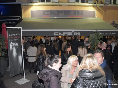 CANNES SHOPPING FESTIVAL & GALERIES LAFAYETTE & AFTER