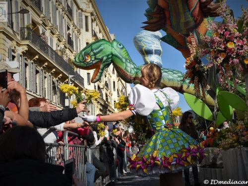 Carnaval de Nice 2018 – Le Roi de l'Espace