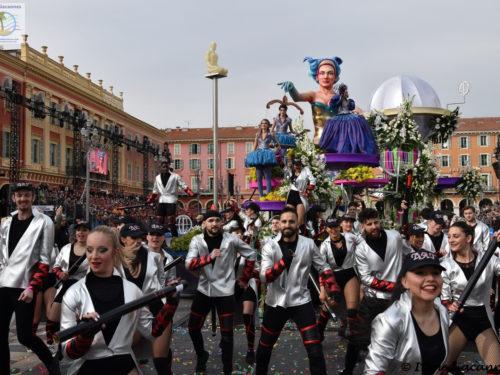 134ème Edition du Carnaval de Nice – Le Roi de l'Espace