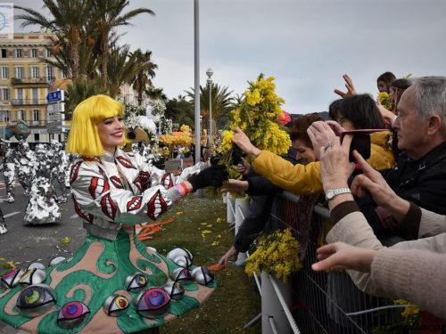 Carnaval de Nice 2018 & Bataille de Fleurs