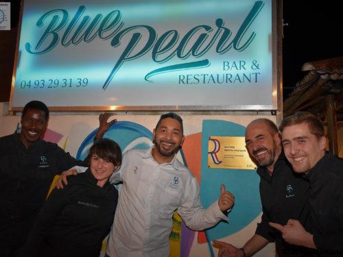 Le Blue Pearl & le Menu Comté de Nice