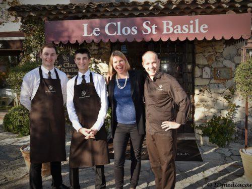 Restaurant Le Clos St Basile – Mougins