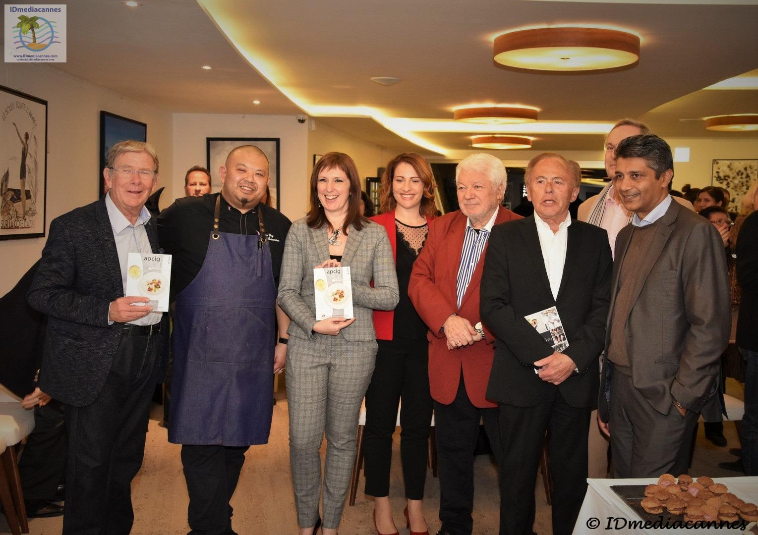 Sortie de l annuaire 2018 de l apcig idmediacannes for Restaurant le jardin st paul
