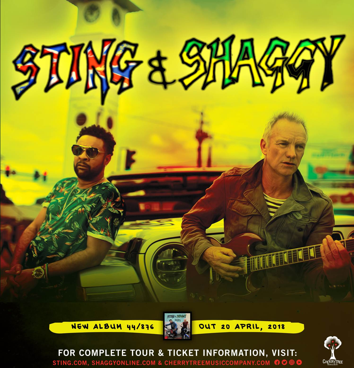 SAVE THE DATE ! Concert de Sting et Shaggy