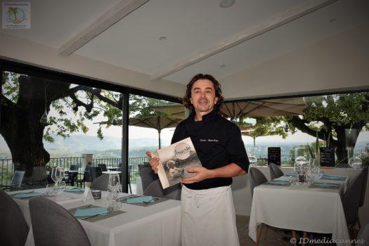 Xavier Malandran – Restaurant Lougolin – Grasse