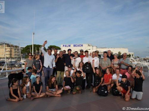 Palmarès de la saison 2017-2018 de l'Ecole de Voile du Yacht Club de Cannes