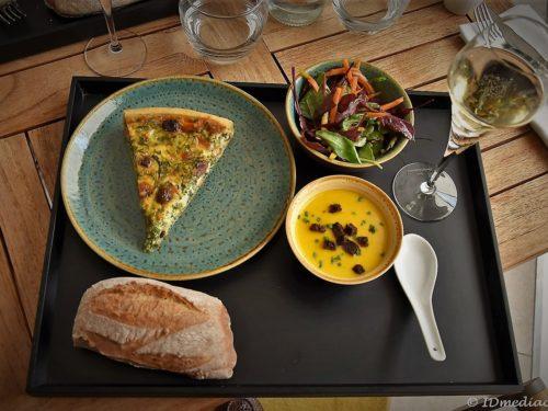 """Une formule """" déjeuner express """" bien-être et plaisir à La Terrasse du Gray"""
