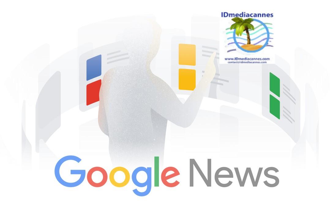 Retrouvez IDmediacannes sur Google News