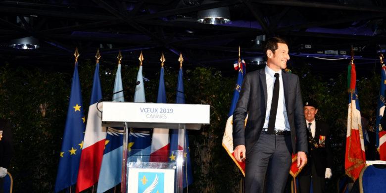 Cérémonie des vœux Cannes 2019 – David Lisnard