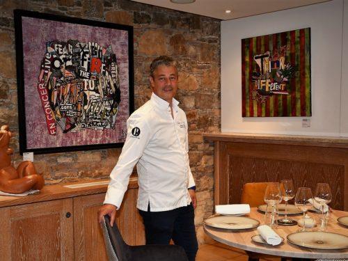 Soirée d'ouverture du restaurant gastronomique «Le Ciste» Gabriel Degenne