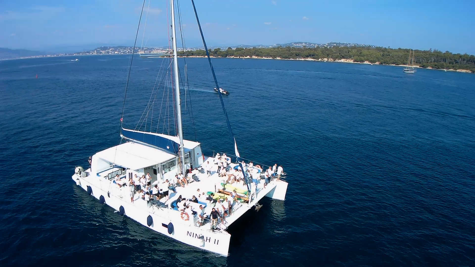 SAVE THE DATE ! Croisière à bord du catamaran Ninah II