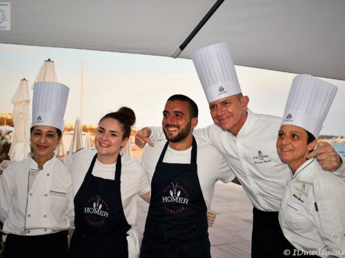 On en pince pour le homard à I'Intercontinental Carlton Cannes