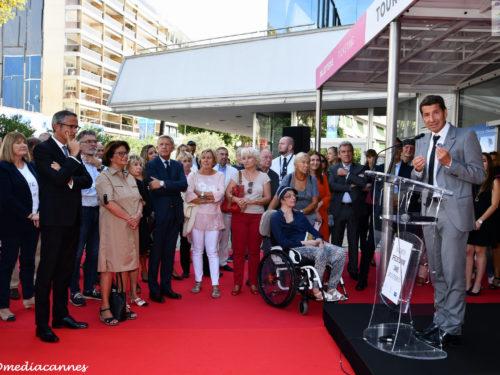 Cannes … Inauguration du nouvel Office de Tourisme
