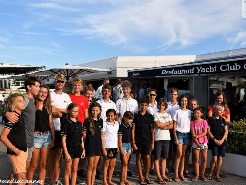 Remises des médailles de l'école de Voile Yacht Club de Cannes 2019