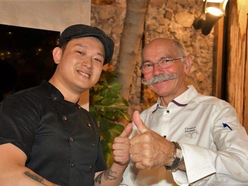 La Chine s'invite au restaurant étoilé Le Figuier de St Esprit – Antibes