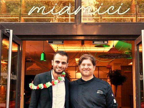 Buon cibo, amici felici & bella vita au restaurant Miamici – Nice