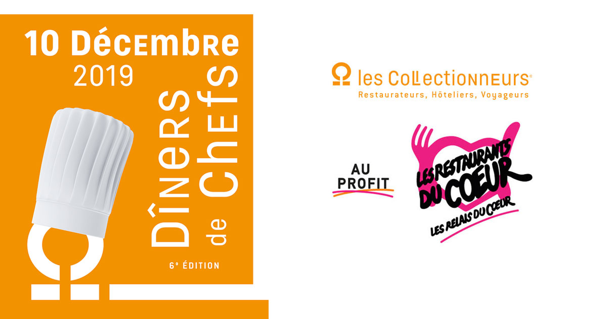 SAVE THE DATE ! …Dîner de Chefs au profit des Restaurants du Cœur