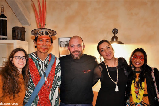 Benki Piyako & Roseli Nogueira, invités à la table de Léa & David Graziani