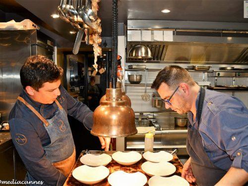 Déjeuner à 4 mains chez Sebastian Gaillard pour le 1er marché de la Truffe Noire à Aups