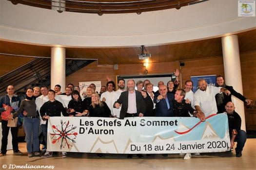 Chefs au Sommet d'Auron – 9ème édition – Conférence de presse