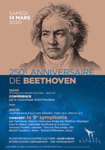 SAVE THE DATE !  250e anniversaire de Beethoven – 14 mars – St Raphaël