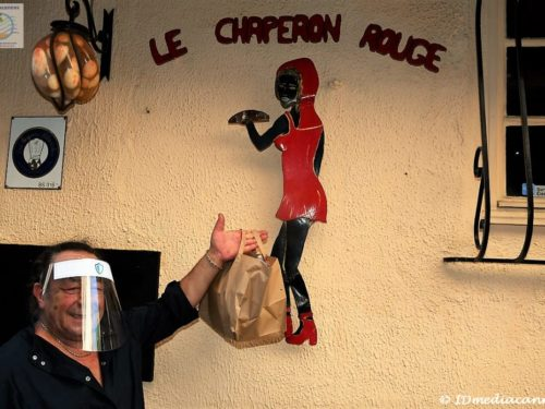 Le Chaperon Rouge … bons petits plats & performance artistique
