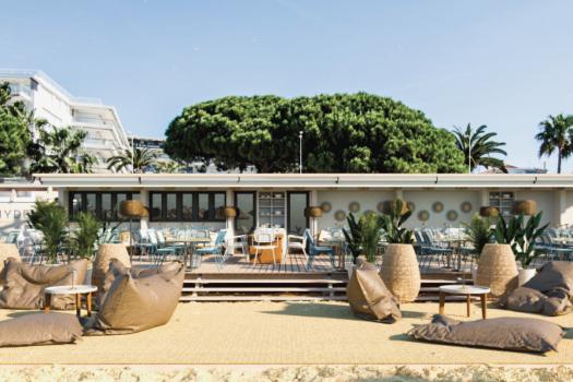 Hyde Beach Cannes … la nouvelle plage du Grand Hôtel Cannes***** ouvre le 2 juin !