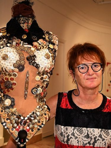 Bianca TOSTI & Dieter FILLER – ArTextures en mode tissus et boutons