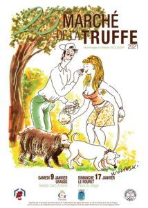 SAVE THE DATE … Marché de la Truffe 2021 Grasse & Le Rouret