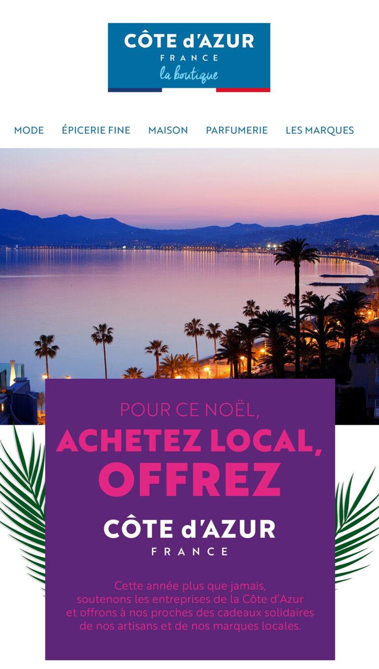 ACHETEZ LOCAL … Boutique en ligne Côte d'Azur France