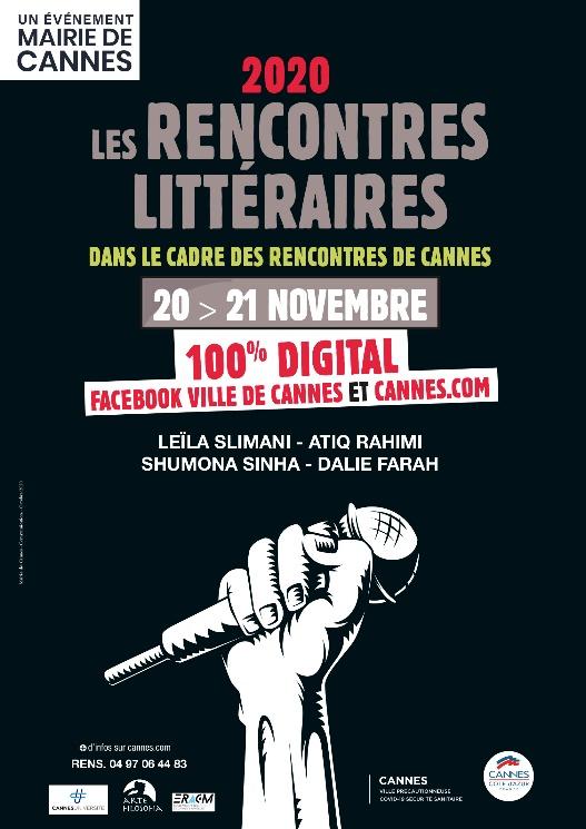 SAVE THE DATE … Les Rencontres Littéraires de Cannes 2020