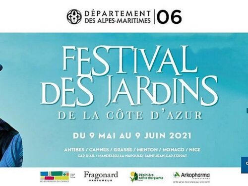 Festival des Jardins – extraordinaires – de la Côte d'Azur … 3ème édition