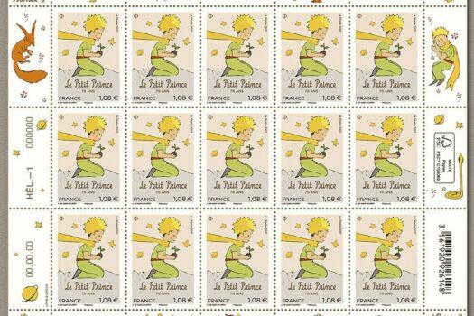"""Christian Estrosi dévoile un timbre émis pour les 75 ans de la parution du """" Petit Prince """""""